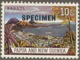 Briefmarke Papua Neuguinea Michel Nr 38 Aufdruck SPECIMEN 15 mm