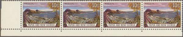 Briefmarke Papua Neuguinea Michel Nummer 38 Rabaul