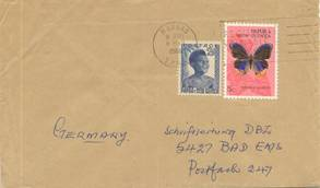 Papua New Guinea cover currency change mixed franking
