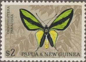 Briefmarke Papua Neuguinea Schmetterling Michel Nr 94 II