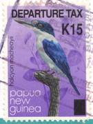 Papua New Guinea overprint
